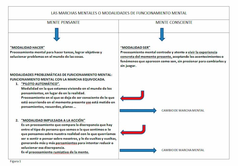 marchas mentales